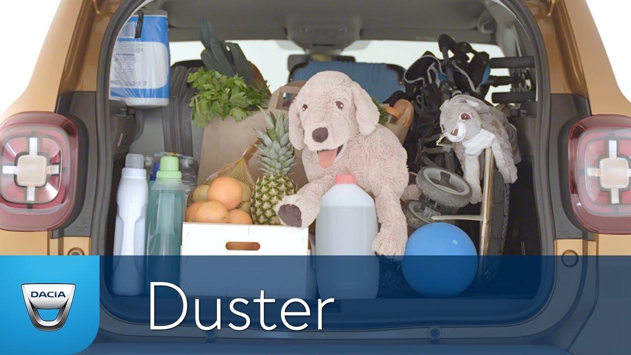 Dacia DUSTER review 9 : coffre et dimensions