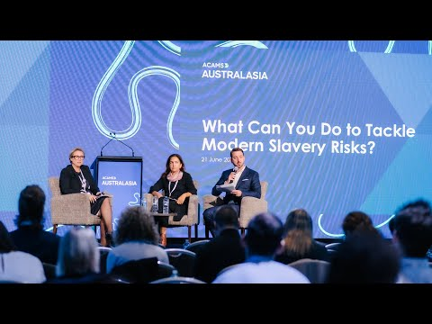 Download What Can You Do to Tackle Modern Slavery Risks? - ACAMS Australasia Conference