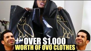 I SPENT OVER $1,000 AT DRAKE'S OVO STORE