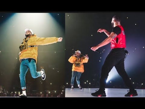 "Drake & Chris Brown End Beef On Stage In LA, ""THIS IS SOMETHING I WAITED A LONG TIME FOR"" - Drake"