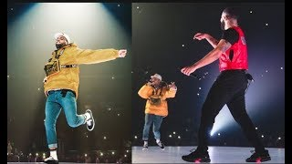 """Drake & Chris Brown End Beef On Stage In LA, """"THIS IS SOMETHING I WAITED A LONG TIME FOR"""" - Drake"""