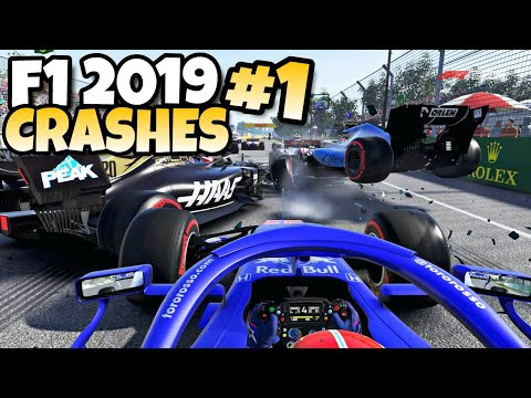 F1 2019 CRASHES #1