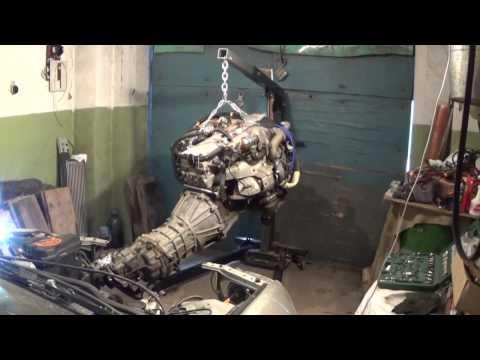 Altezza Gita 1JZ-GTE R154 разбор конструкции, часть 3