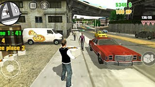 Pizza Delivery and Ambulance Emergency Game - Clash in San Andreas - Android Gameplay