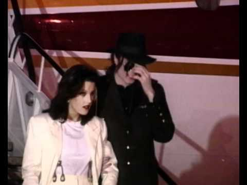 michael jackson wife lisa marie presley arrive hungary youtube