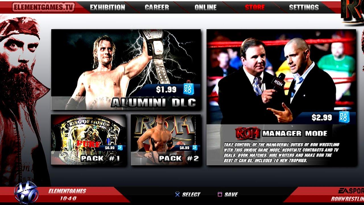 roh wrestling uk tv