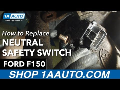 How to Replace Install Neutral Safety Switch 1997-03 Ford F150