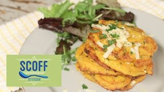 Butternut Squash Fritters | Cooking For Kids S4e5/8