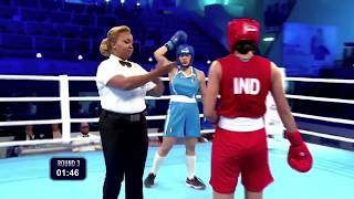 Ankushita Boro's QuarterFinal Match -AIBA World Youth Championship|Bodo Girl from BTAD, Assam INDIA