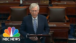 Senator Mitch McConnell: Democrats Are 'Throwing Fairness And Precedent To The Wind' | NBC News