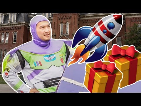 WHY IS BUZZ LIGHTYEAR AT WVU?! 🚀🎁