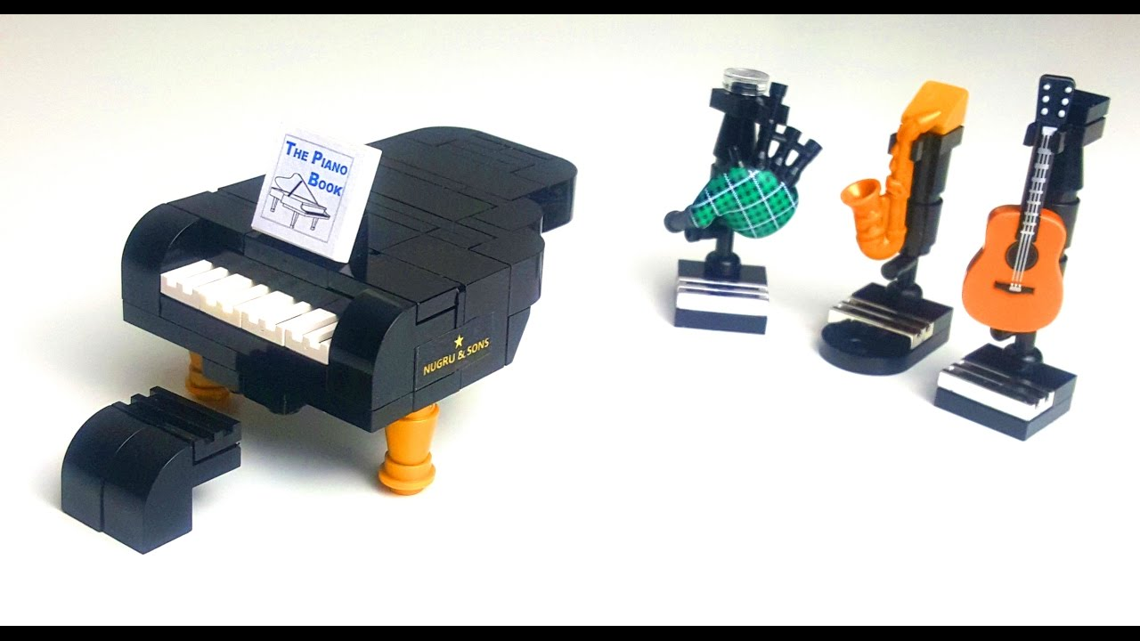 How To Build A Lego Grand Piano