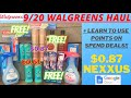 🔥9/20-9/26 Walgreens Haul {USING POINTS ON SPEND DEAL}+ $0.61 Degree {Walgreens Couponing This Week}