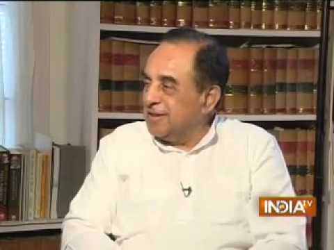 Dr Subramanian Swamy latest interview with IndiaTV