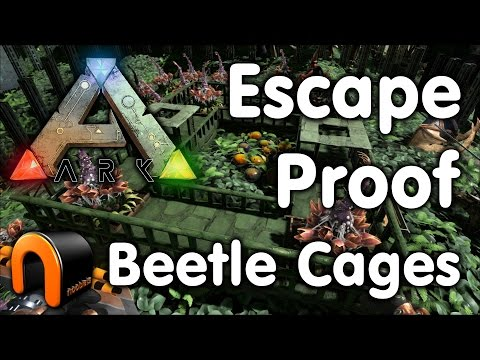 Ark Escape Proof Beetle Cages