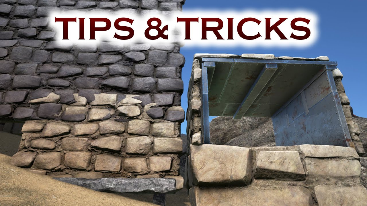Fence foundations building tips and tricks ark survival for Construction tips and tricks