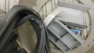 드럼세탁기 청소 3 ~ 엘지 16키로 청소 점검