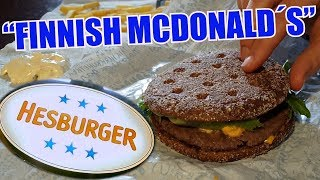Finland Friday: The biggest FAST FOOD chain in Finland!