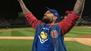 SF@CHC Gm2: CM Punk calls for Chicago to 'Play Ball'