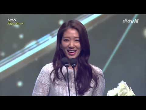 Park Shin Hye won Best Actress in 2014 APAN Star Awards