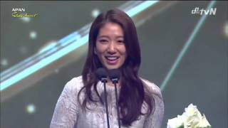 Video Park Shin Hye won Best Actress in 2014 APAN Star Awards download MP3, 3GP, MP4, WEBM, AVI, FLV Mei 2018