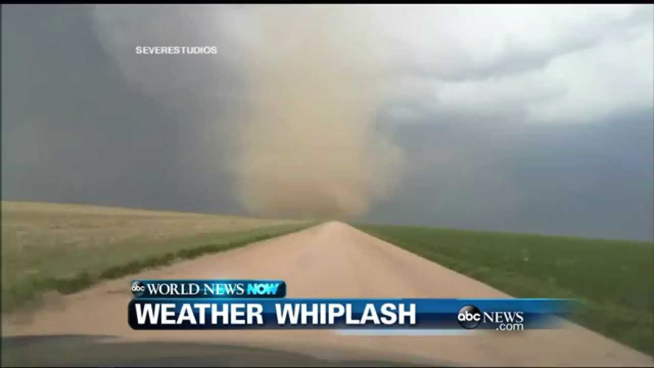 Whiplash weather in Colorado!