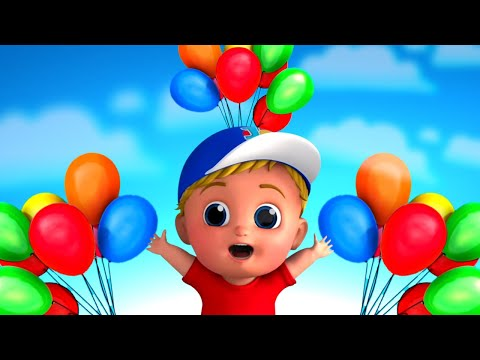 Balon Lagu | Video Kartun Untuk Anak-anak