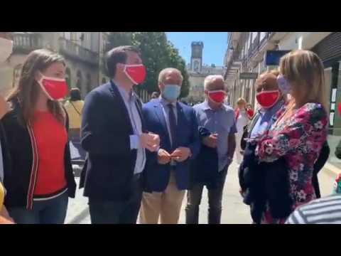 Caballero acusa en Lugo a Feijóo de emplear una estrategia electoral en A Mariña
