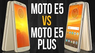 Moto E5 vs Moto E5 Plus (Comparativo)
