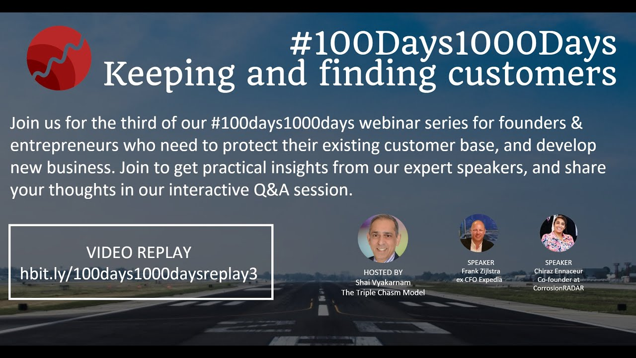 #100Days1000Days – Keeping and finding customers