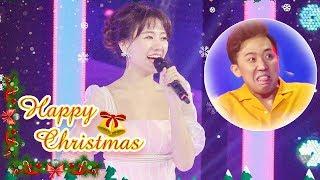 Trấn Thành NGẤT NGÂY khi nghe Hari Won hát Happy Christmas