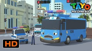 Tayo English Episodes l Tayo, the Police Officer! l Tayo the Little Bus