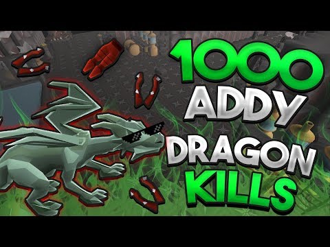 Loot From 1,000 Adamant Dragons