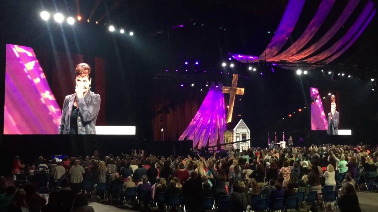 Joyce Meyer Holy Spirit shows up Women's Conference 2016