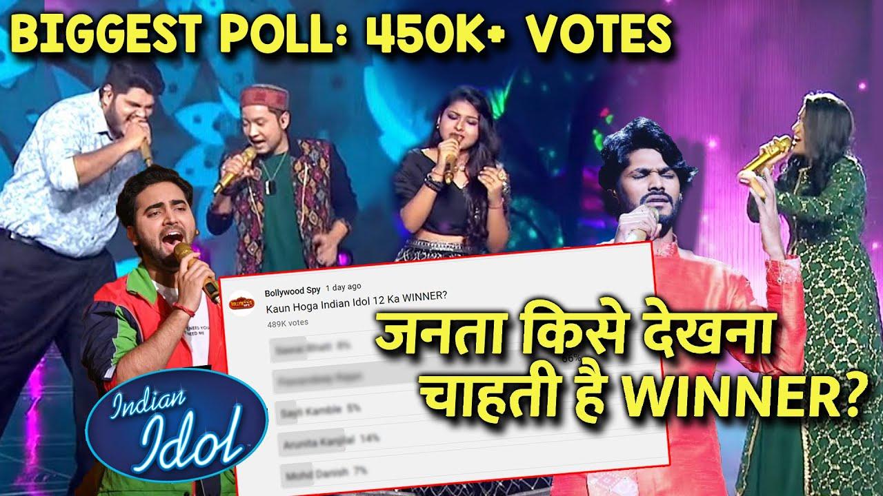 Indian Idol 12 BIGGEST Poll | 450K+ Votes | Kaun Banega WINNER?