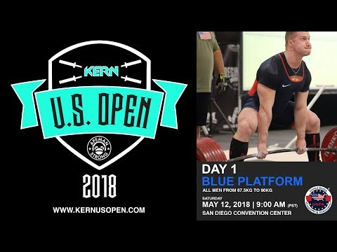 The Kern US Open USPA Powerlifting Competition | Day 1 - Blue Platform