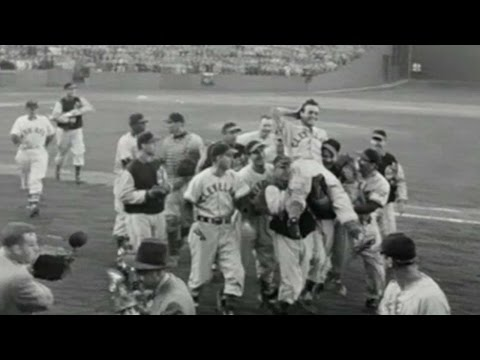 CLE@BOS: Indians win tiebreaker for 1948 AL pennant