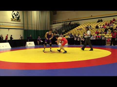 2015 CIS Championships: 54 kg Freddie Aziz vs. Eric Renaud