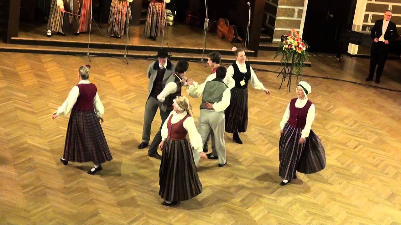 """00699 Folkloras mūzikas un deju kopas DANDARI 35 g. jubilejas """"kadriļu balle"""". Šeiderkadrilis"""