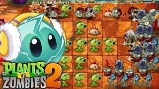 Plants vs. Zombies™ 2 - PopCap Jurassic Marsh Day 29