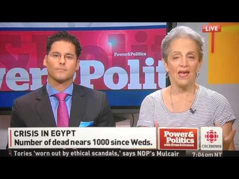 Mohamed El Rashidy & Janice Stein CBC P&P is Egypt descendi