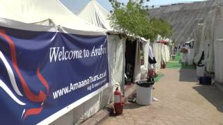 Arafah - External View of Tent