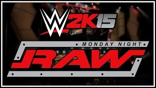 WWE 2K15 Universe Mode - RAW Intro! (Ruthless Aggression)