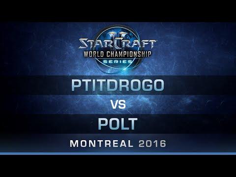 SC2 - PtitDrogo vs Polt [PvT] - RO8 - Bo5 - DreamHack Zowie Open Montreal 2016