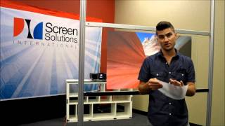 rear projection films adhesives