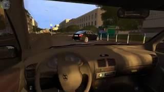 City Car Driving - покатушки на Hyundai Accent/Logitech G27