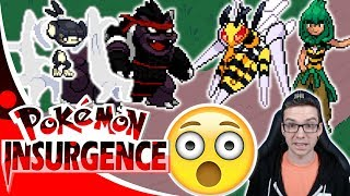 GYM BATTLE VS MEGA BEEDRILL AND EPIC NEW EVOLUTIONS! Pokemon Insurgence Let's Play Episode 12