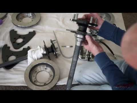 SSBC Drum to Disc Brake Conversion Experience - Part 1 - YouTube