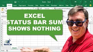Learn Excel - Numbers Aren