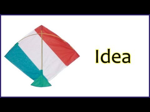 Kite Making | How to Make A Simple Pakistan  Kite At Home | Golden  Hacks | Patang making